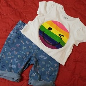 Emoji Outfit children's place & crazy 8 size 8